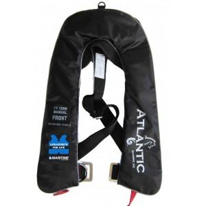 Inflatable Life Jacket Manual Black ( Yacht )