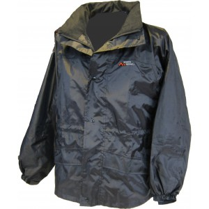 Freedom Rain Jacket Adult Uni-Sex S-XXL Black