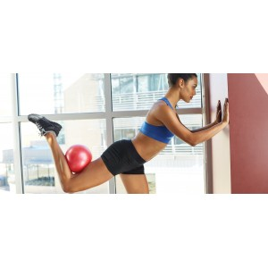 Pilates inflatable Sponge Ball-  23cm