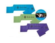 Gaiam Pilates Body Band Workout Kit