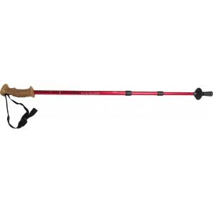 Hiking Stick Cork Pistol Handle- Red