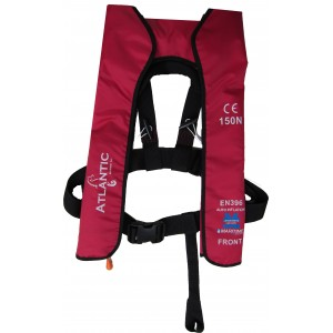 Inflatable Life Jacket Automatic Red